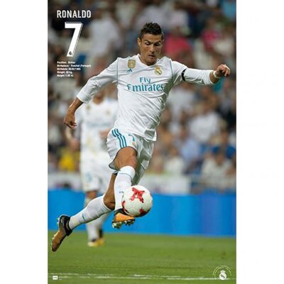 Plagát Real Madrid - Ronaldo