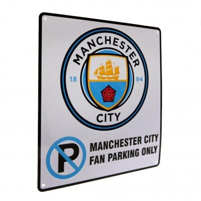 Tabuľa Manchester City - No Parking