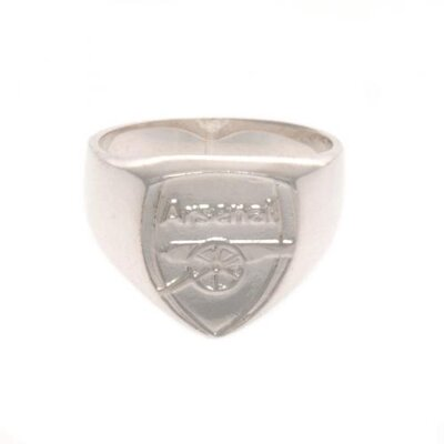 Arsenal F.C. Sterling Silver Ring Small