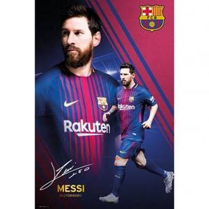 F.C. Barcelona Poster Messi