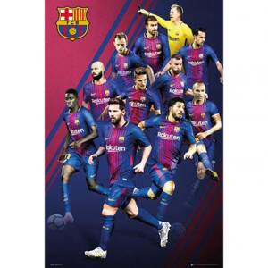 F.C. Barcelona Poster Players